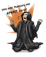 O hai, Snape. by trojan-rabbit