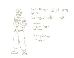 Sergeant Tucker Robinson by LBFable