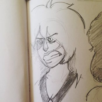 the cheeto [ su sketch ] by The-Letter-W