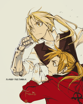 Elric Brothers by Florbe