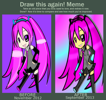 Draw this Again Meme by mauveamygirl