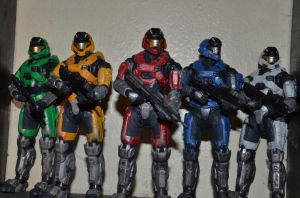 Mark V Rangers by REDNOBLE6