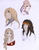 assorted oldersiblings and a fujihara by StrawberriOnTop