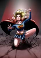 Supergirl - Impact by eHillustrations
