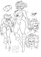 Thundercats Sketches 02 by AllPat