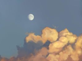 Speed paint study Clouds (2) by charfade