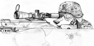 Sniping In Afghanistan by bdever