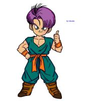 Coloreo de Trunks Chico by Gokunks