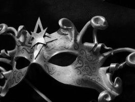 Leather Mask, Tarot  STAR by faerywhere