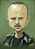 Jesse Pinkman - Breaking Bad by markdraws