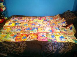 Sonic The Comic 48 Fleetway comic bundle update by DarkGamer2011