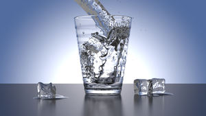 Glass Water - Blender with Cycles by batil