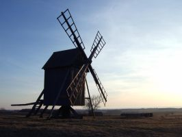 Windmill 2 by Art-By-Anders