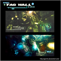 Tag Wall Gears o War by Garcho