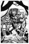 More INKPlay, over David Finch by Jaxink1
