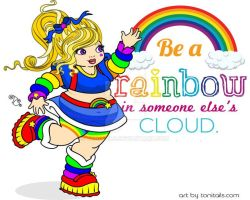Chubby Rainbow Brite by ToniTails