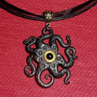 Elder Creature Necklace by CthulhuJewellery