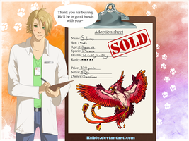 Lewis the vet: Solixus -CLOSED- by Kiibie-Adopt