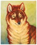 Dhole by Anuwolf