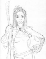 Angelina Quidditch Captain by GirlNamedEd