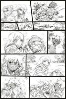 Kakashi and Anko comic scrap2 by KickBass77