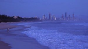 Early Fishing and Surfers Paradise by I-Artemis-I
