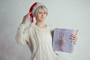 Yuri on Ice cosplay -  Marry Christmas ver. - 1 by Dokura-chan