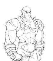 Panthro Sketch by Omniron
