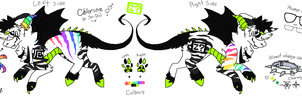 .: Chlorine - Secondary Fursona :. by Neroxophine