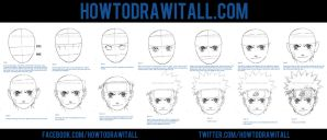 HOW TO DRAW NARUTO UZUMAKI by HowToDrawItAll