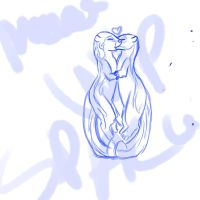 no otter for me wip by Rubyjessicalockheart