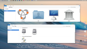 New osx mstyle Approach to Windows 8.1 by ZEUSosX