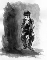 Charlie Chaplin by blackafter