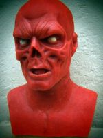 Red Skull WIP. Nearly Finished 2 by XtcofPain
