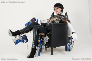 Bayonetta 2 cosplay - Do you want to join me? by JudyHelsing