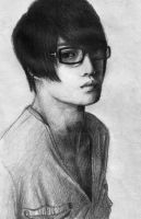 A Portrait of Kim Jaejoong by Shadent-strife