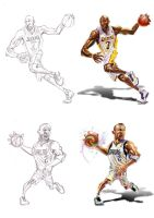 NBA stars 1 by A-BB