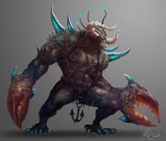 Creature concept by Traaw