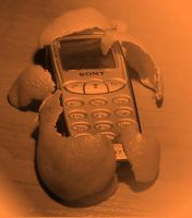 Tangerine Cellphone by fantasyh