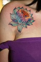 Lotus Tattoo by lynnightmar3