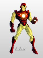 Iron Man by GavinMichelli