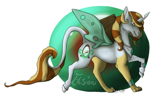 Elusion Commish #2 by ProtoSykeLegacy