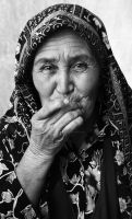 Uzbek Lady by MoochinMooze