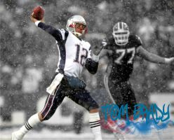 Tom Brady Wallpaper real one by wfradera