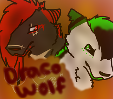 Draco-Wolf Cover//Contest by Rose-Sherlock
