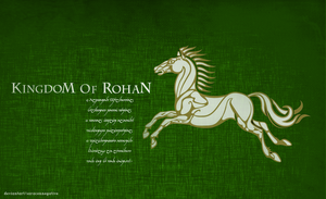 Kingdom Of Rohan - Special Edition by saracennegative