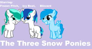 The Three Snow Ponies Cover by 2BadAss4YoAss