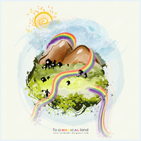 To a magical land.. by NaBHaN