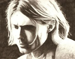 Kurt Cobain Lake Of Fire by magentafreak