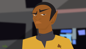 Tuvok by RHCOMICS